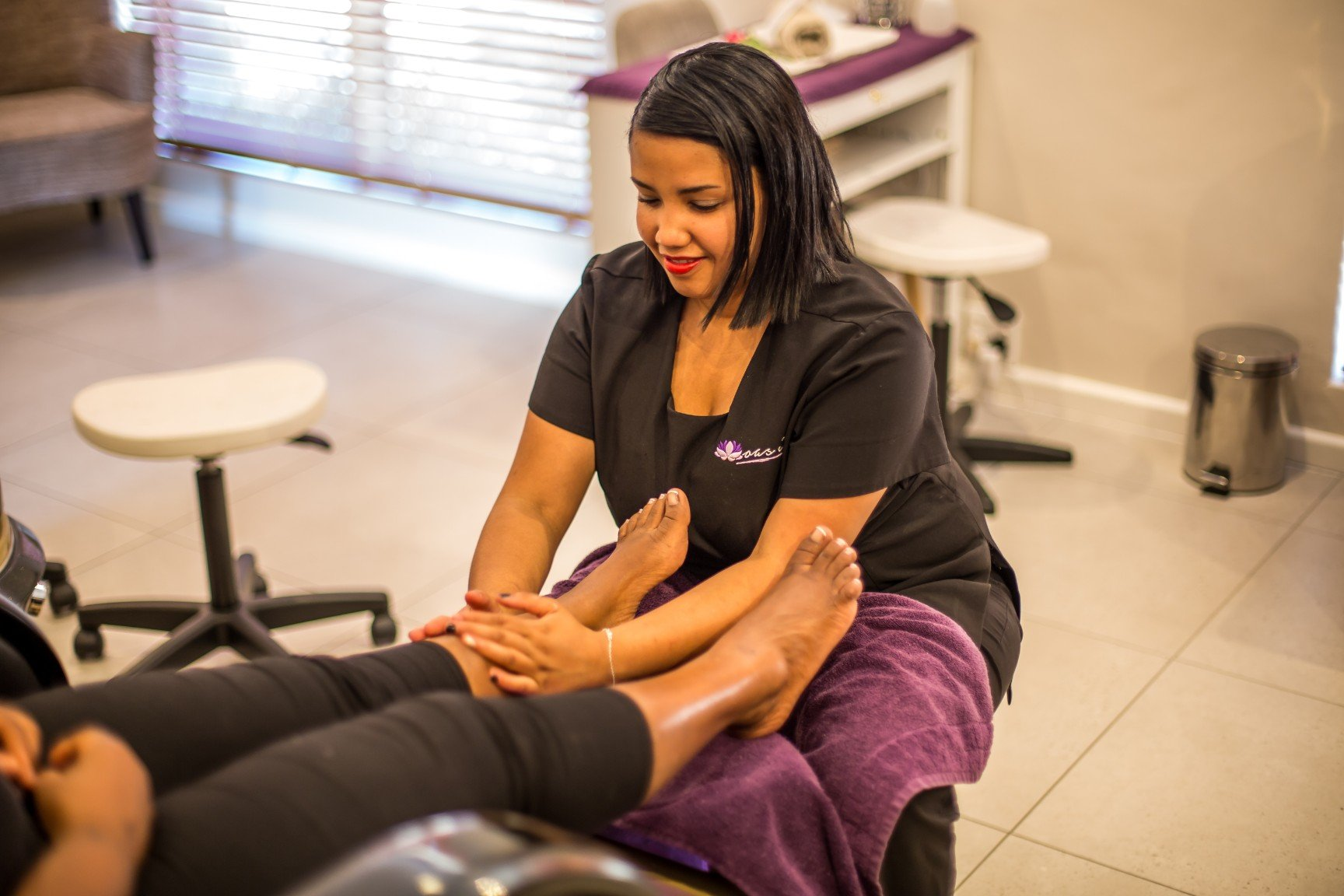 photo of foot massage spa cape town